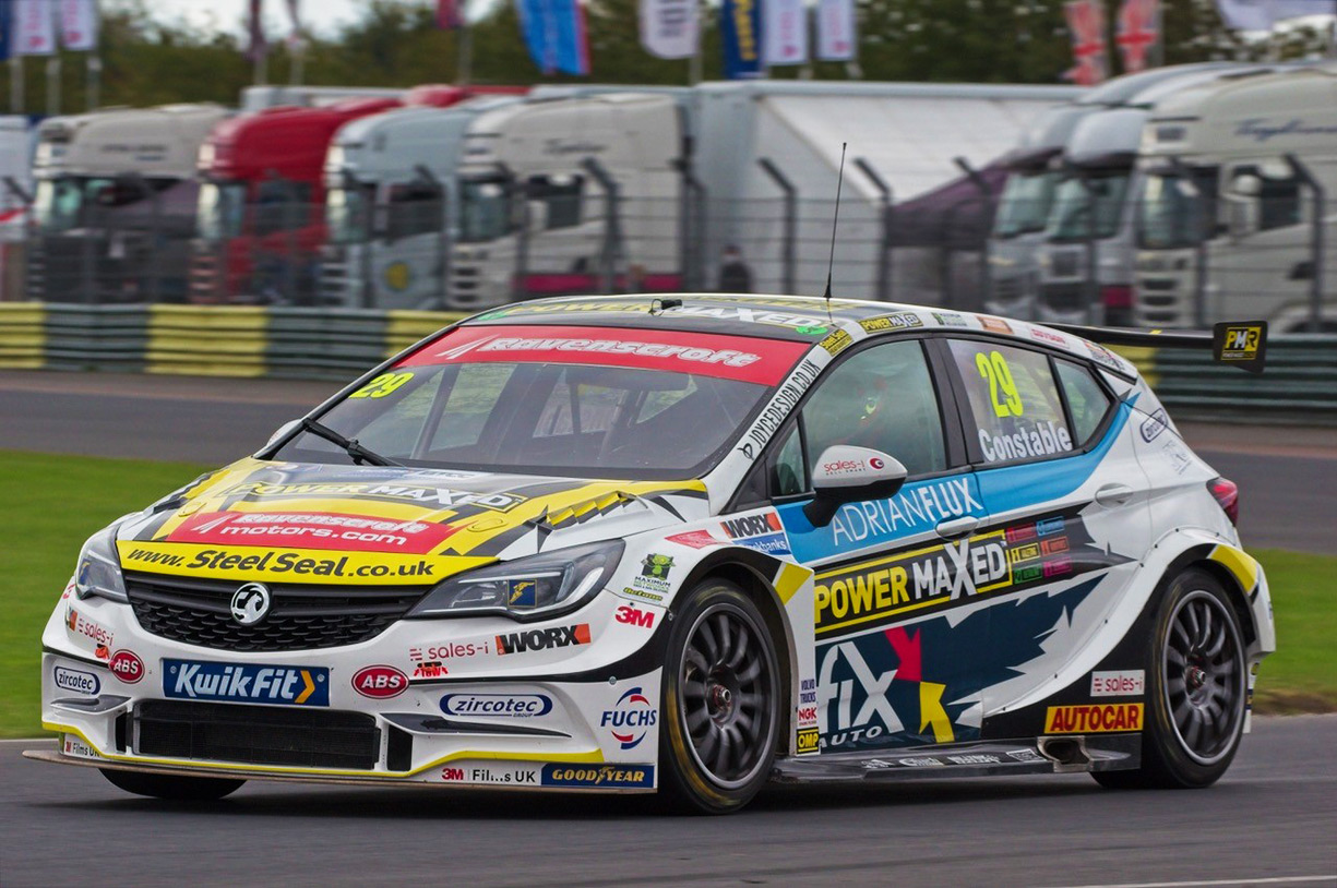 Jac Constable BTCC Debut at Croft